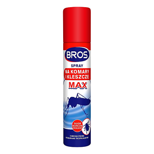 BROS Spray na komary i kleszcze 90 ML